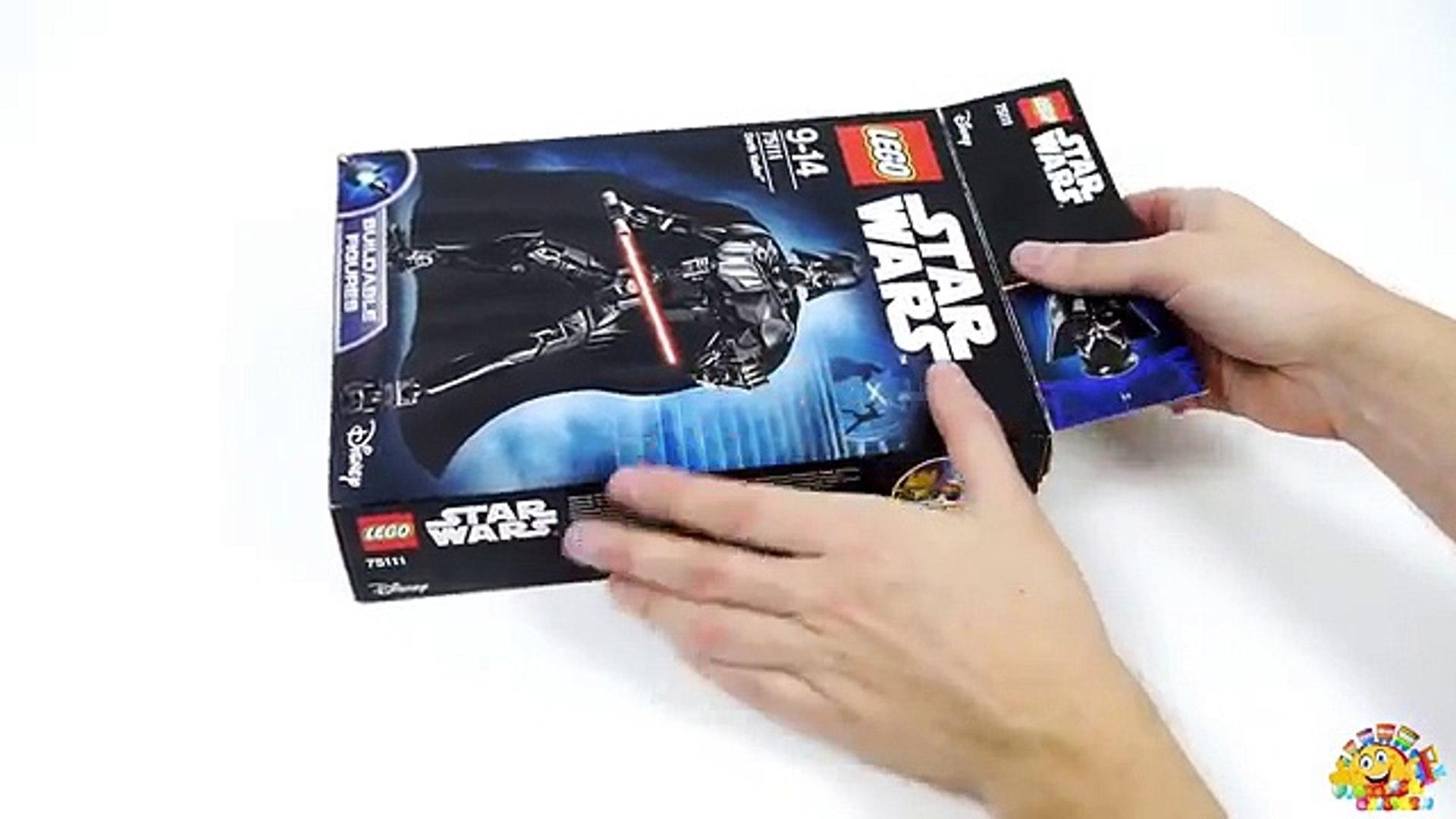 Dessin Animé Mouvement étoile Arrêter Jouets Vidéo Contre Blême Guerres Lego 75111 Darth Vader 75109 Obi Kenobi Fo