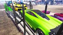 Et des voitures dessin animé enfants couleur les couleurs pour enfants Apprendre moto garderie homme araignée W rhym