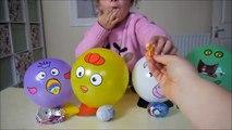 Et ballon bricolage des œufs amusement amusement enfants jouets avec Animal surprise kinder hd