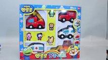 Voiture jouet jouets machines dessins animés pro la police de la station de gaz Pororo Robocar kid poly attraper un jouet de bus робокар поли la police