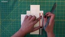 Una y una en un tiene una un en y caja Bricolaje regalo cómo hacer papel para