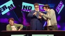 Alan Davies Intros Round QI or Buzzcocks? | Simon Amstell Never Mind The Buzzcocks