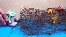 Niños para y Dinosaurios arañas gigantes insectos atacan la serie de dibujos animados sobre los dinosaurios 1