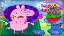 Un para juego lesionado Niños cerdo peppa peppa curar heridas hospital | peppa