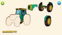 Voiture des voitures dessin animé enfants couleur les couleurs pour enfants Apprendre garderie transport un camion Dans lannée