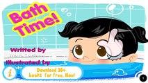 Et bébé bain baignade mignonne enfants petit mère histoire temps équipe Animation fo