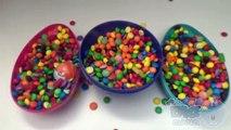 Bonbons des œufs rempli géant caché énorme dans géant partie avec Surprise 3 surprise 8