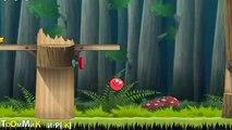 Balle rouge série 4 boule rouge contre les vertes collines carré mal 2 mule jeu vidéo