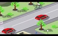 Machines clin doeil pro Les règles de la circulation enseigner la chanson des enfants de formation lumière