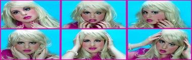 Et idée maquillage Nouveau tutoriel Costume de barbie halloween jackie wyers