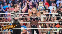 Natalya vs Naomi - Singles match for the WWE SmackDown Women's Championship - WWE SummerSlam 20 August 2017 - Dailymotion Full Match - SummerSlam 2017 - Naomi vs Natalya - WWE