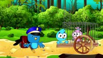 Birds Family Inflate Chewing Gum Eps Cartoon Animation Nursery Rhymes by Arnold Thurlow