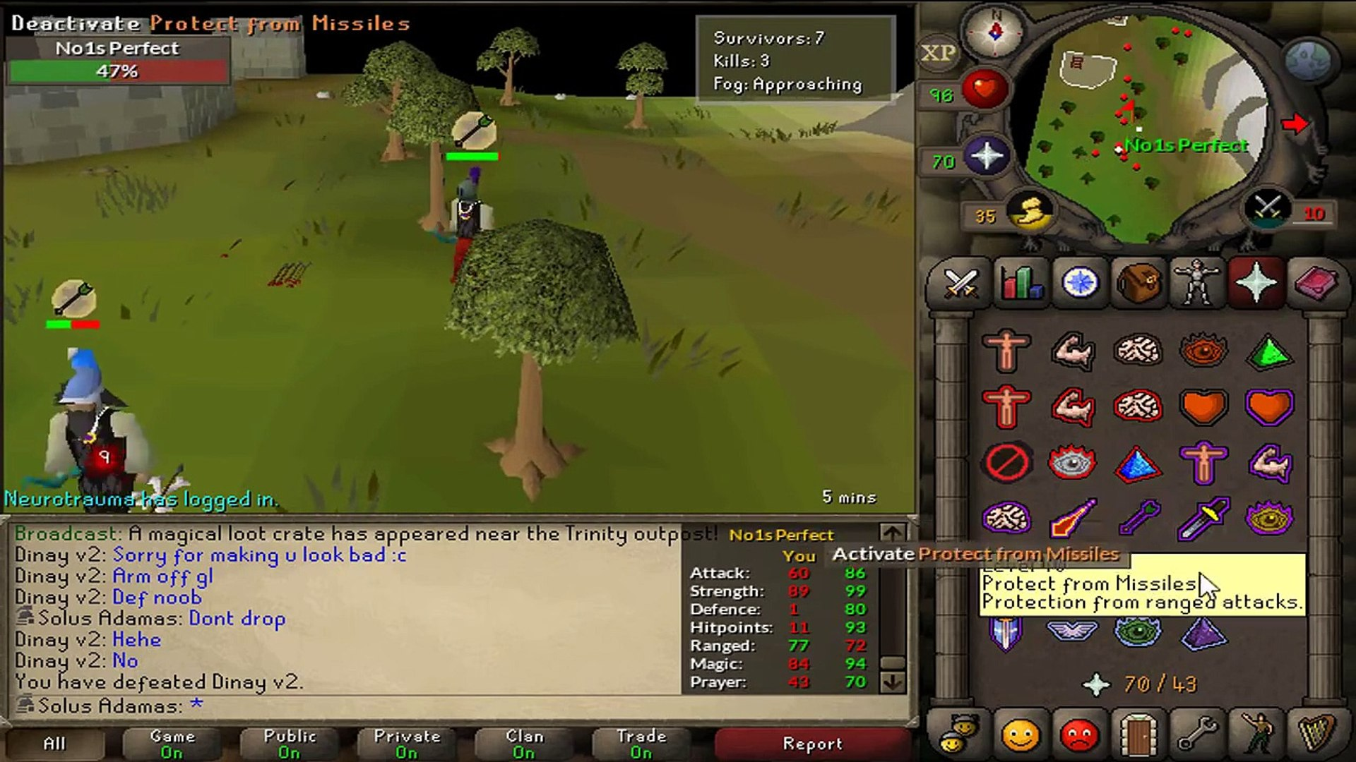 Osrs 99 mage 10 hp