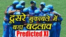 India Vs Sri Lanka 2nd ODI: Virat Kohli's Predicted XI against Sri Lanka | वनइंडिया हिंदी