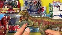Animaux boîte de dinosaures géant jurassique Nouveau parc requin jouets Dragons crocodile roboraptor