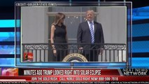 MINUTES AGO TRUMP LOOKED RIGHT INTO SOLAR ECLIPSE, THEN DID SOMETHING JAW DROPPING-AEHJilclkC4
