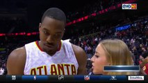 Kent Bazemore gets Dwight Howard with the Baze Gaze after Atlanta Hawks Win