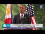 US Pres. Barack Obama's statement during the Joint Press Conference with Philippine Pres.