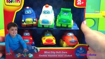 BRUIN Mini City Soft Cars boys car toys ambulance police car fire truck taxi | toys kids!