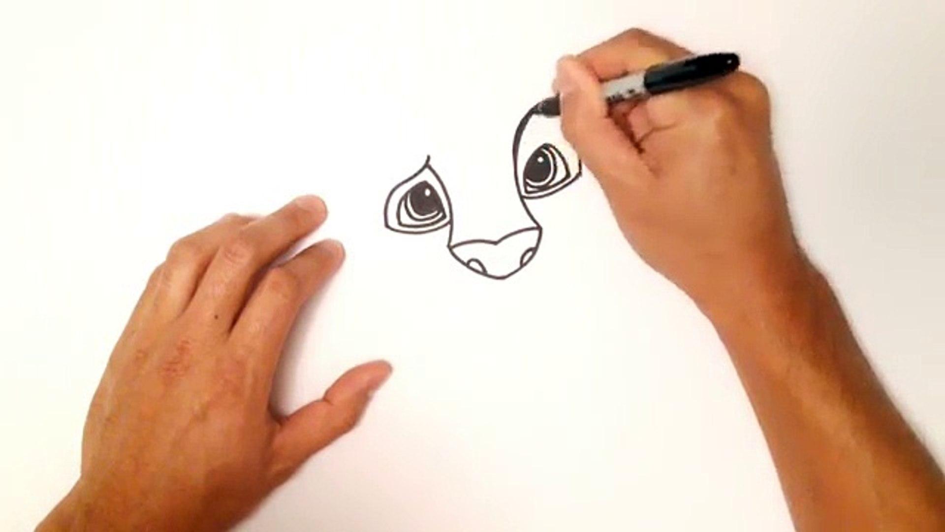 Dessiner Dessin Facile Pour Comment Enfants Cours A Il Simba Etape Par Etape Video Dailymotion