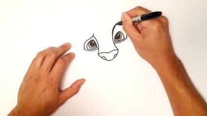 Dessiner dessin facile pour Comment enfants cours à Il Simba étape par étape