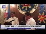 Duterte names ex-AFP chief Cimatu as new DENR chief