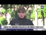 London Fire: Confirmed fatalities as fire engulfs tower block