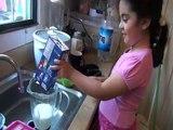 Cuisine escroquerie avec GIRL 2 cuisine angelina drôle