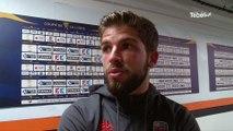 Football. Coupe de la Ligue. FC Lorient - RC Lens : 3-2. Les réactions de Jimmy Cabot