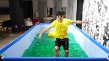 Piscine Sous la natation Jai vu fait eng Jelly monstre piscine heopap Gelli BAFF