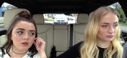 Ces deux actrices de Game of Thrones s'entendent vraiment mieux en voiture que dans leur château