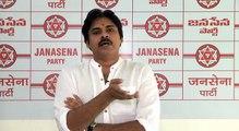 JanaSena Chief Pawan Kalyan Flag Hoisting At Party Office JanaSena