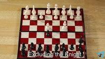Atteindre échec et mat échecs Comment dans se déplace à Il 2 |
