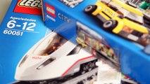 Construir Ciudad alto pasajero Informe velocidad tren LEGO LEGO 60051