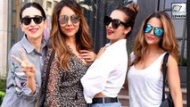 Celebs At Gauri Khans Store Launch | Karisma Kapoor | Malaika Arora Khan
