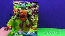 Una y una en un tiene una un en y caída cabeza mutante joven juguete tortuga vídeo Ninja nickelodeon tmnt leonarday tmnt fu