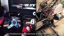 Epic GYMKHANA drifting Skills PC simulator Ken Block - DRIFT Racing Steering Wheel gamepla