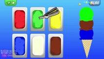 Apprendre les couleurs avec de la glace crème enseigner couleurs bébé enfants enfants apprentissage vidéos par bébé
