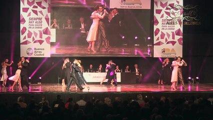 Mundial de Tango 2017, FINAL Pista, Ronda 2