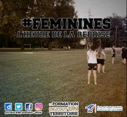 #Feminines : la reprise de l'entrainement en vidéo.
