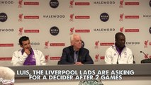 Figo and Seedorf Post Match Press Conference! | Liverpool Legends 4 3 Real Madrid Legends