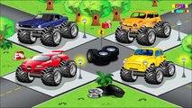 Monstre un camion tous les dessins animés en rang pro série camion monstre de jeeps