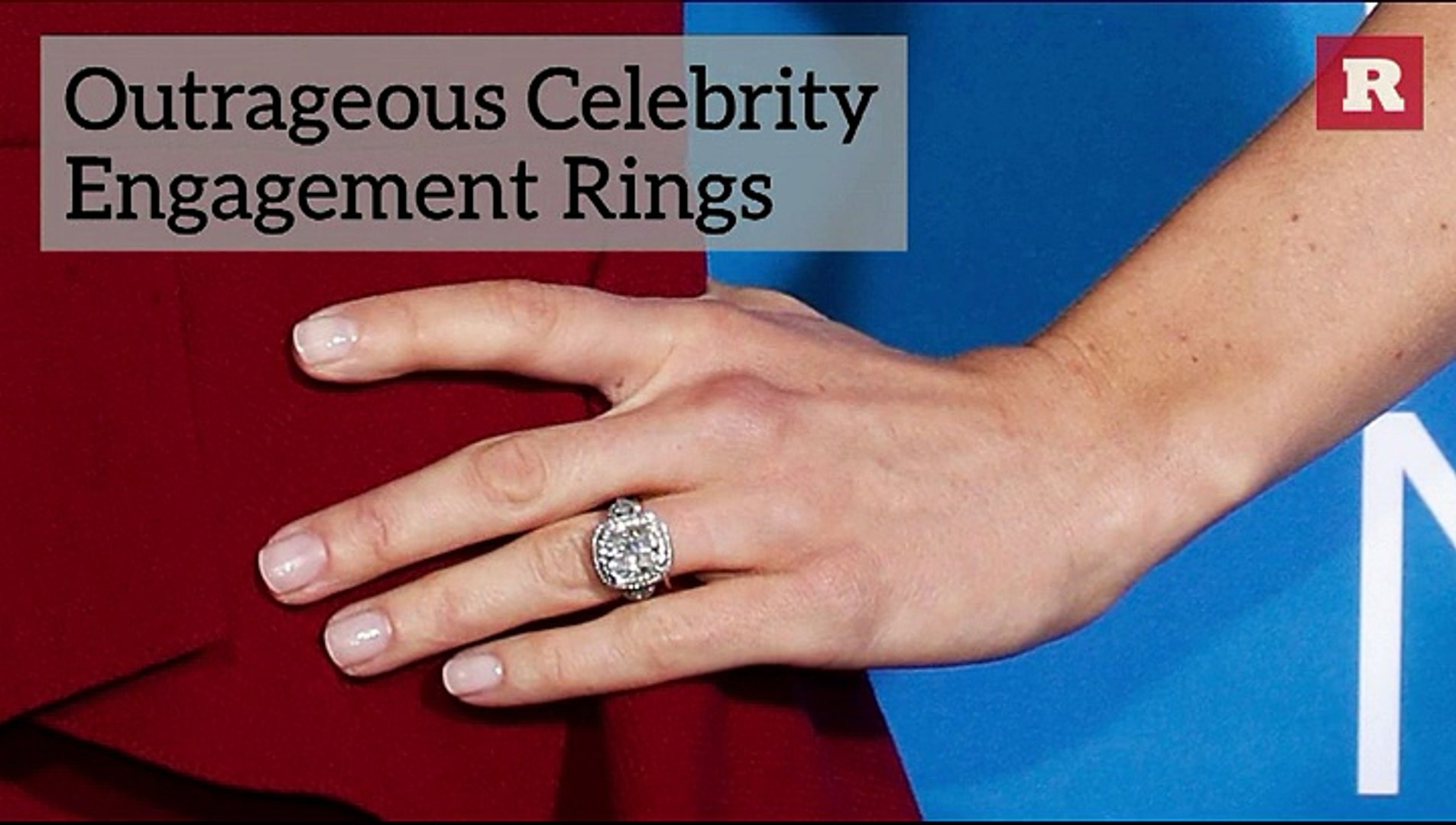Outrageous Celebrity Engagement Rings | Rare Life