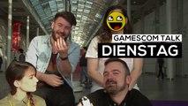 gamescom 2017 - Der Talk am Dienstag - Da sind wir wieder