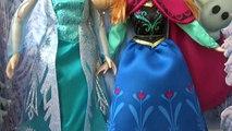 Et poupée gelé et Disney Anna elsa poupées Frozen Fever Anna Elsa multfi examen