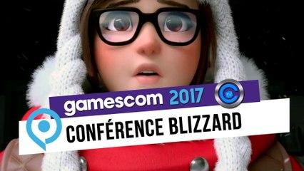 Gamescom 2017 - conférence blizzard