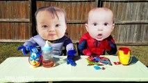 Spiderman and Batman Crying Superhero Babies in Real Life! Gorilla Attack Prank!