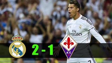 Cristiano Ronaldo Fantastic Goal - Real Madrid vs Fiorentina (2-1) 24.8.2017 Bernabeu Trophy game - Football is Life