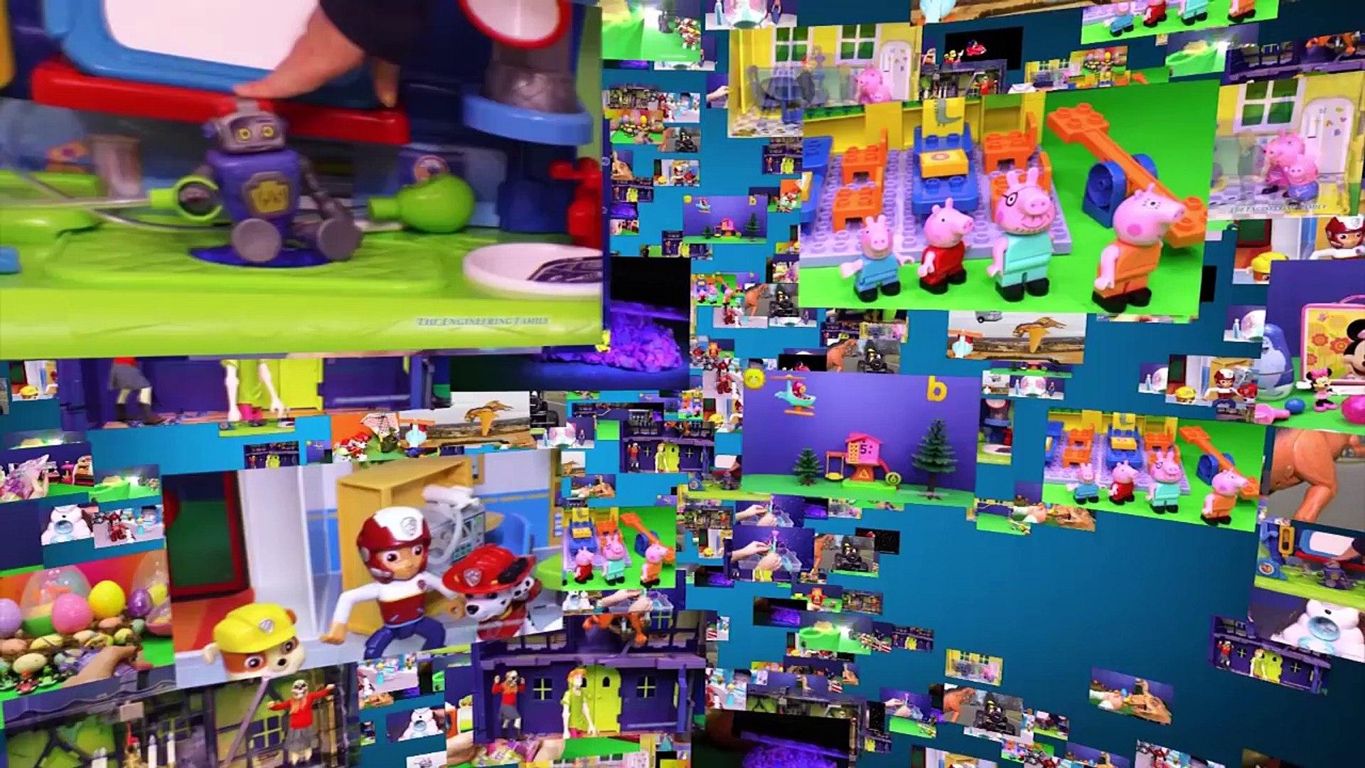 BLAZE AND THE MONSTER MACHINES Nickelodeon Blaze Crusher Slam n Go Blaze Video Toys Unboxi