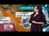 ¿Cuáles son las etapas de evolución de un ciclón tropical? / Ingrid Barrera
